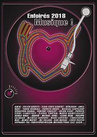 Cover Les Enfoirés - 2018: Musique! [DVD]
